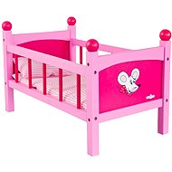 Woody Doll cot with bedding - Trendy - Doll Accessory