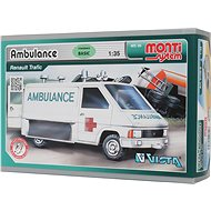 Monti system 06 - Ambulance Renault Trafic 1:35 - Building Kit