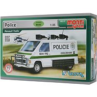 Monti system 27 - Police Renault Trafic Scale 1:35 - Building Kit