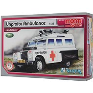 Monti system 35 - Unprofor Ambulance Land Rover scale 1:35 - Building Kit