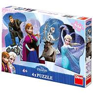 Dino Disney Frozen Ice Kingdom - Puzzle
