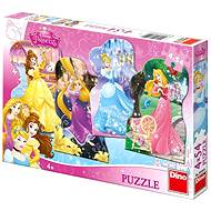 Dino Playful Princess - Puzzle