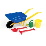 Plastic wheelbarrow with accessories - Sand Tool Kit