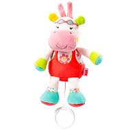 Nuk Pool party - Musical Pullstring Hippo - Cot Toy