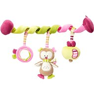 Nuk Forest Fun - Spiral Owl - Pushchair Toy
