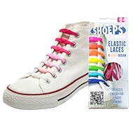 Shoeps - Pink Silicone Laces Mix - Lace Set