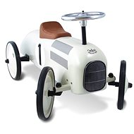 Historic Racing Car White metal - Balance Bike/Ride-on