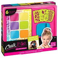 Style me up - Set of hair chalks and templates - Beauty Set