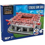 3D Puzzle Nanostad Italy - San Siro Football Stadium - Inter Packaging - Puzzle