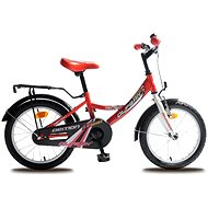 OLPRAN Kids bike Demon white / red - Children's bike 16""