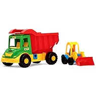 Wader Multi-Truck with Loader - Toy Vehicle