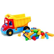 Waser - Auto Multitruck with cubes - Toy Vehicle