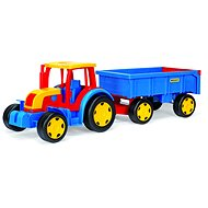 Wader - Giant Tractor with Trailer - Toy Vehicle