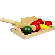 Wooden Food - Fruits and Vegetables - Game set
