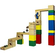 Wooden Marble Track - Ball track