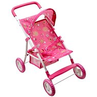 Sporty pushchair with protective canopy - Doll Stroller