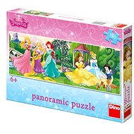 Dino Princesses on the promenade - Puzzle