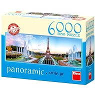 Dino Panoramic View of the Eiffel Tower - Puzzle