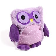 Intelex Microwaveable Soft Toy Purple Owl - Plush Toy