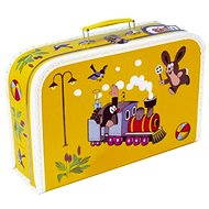 Child's briefcase - Little girl and mouse - Children's lunch box