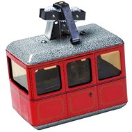 The cable car - red - Metal Model