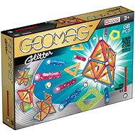 Geomag - Glitter 68 pieces - Magnetic Building Set