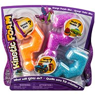 Kinetic Foam - Multi pack (orange, purple, blue) - Foam Clay