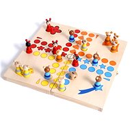 Wooden games - Ludo, animals - Board Game