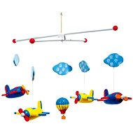 Hanging Carousel - Aircraft - Cot Toy