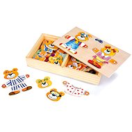 Wooden Toys - Bears Dress Up