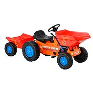 HECHT 51412 Children's Tractor with Trailer - Pedal Tractor