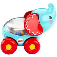 Fisher-Price Turquoise elephant with balls - Educational toy