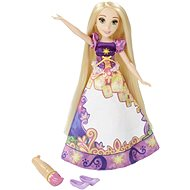 Disney Princess - Doll Rapunzel with coloring skirt - Doll
