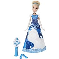 Disney Princess - Cinderella doll with a colour-in skirt - Doll