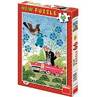 Dino Mole and the Car - Puzzle