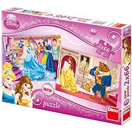 Dino Princess - Cinderella plus Beauty - Puzzle