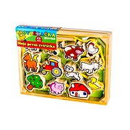 Wooden String - My First Animals 12Pcs - Educational toy