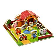 Wooden Farm - My First Animals 28pcs - Educational toy