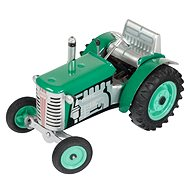 Kovap Tractor with Trailer green - Metal Model