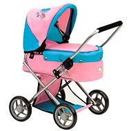 Bino Smaller pram with butterflies - Doll Stroller