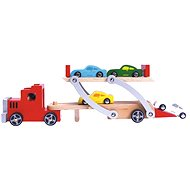 Bino Car Carrier Truck 9pcs