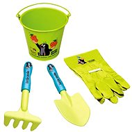 Bino Mole - Large garden set with a bucket - Game set