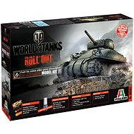 Italeri World of Tanks 36503 - M4 Sherman - Plastic Model