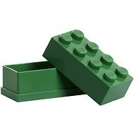 LEGO Mini Storage Brick 46 x 92 x 43mm - Dark Green - Storage Box