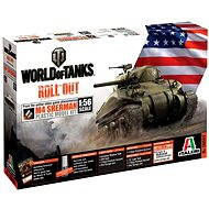 Italeri World of Tanks 56503 - M4 Sherman - Plastic Model