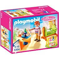 Playmobil 5304 Baby Room with Cradle - Building Kit
