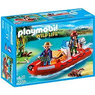 Playmobil 5559 Inflatable boat with Explorers - Building Kit