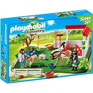Playmobil 6147 Riding Stables Superset Horse Paddock - Building Kit