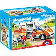 Playmobil 6685 Ambulance with Lights and Sound - Building Kit
