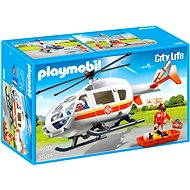 Playmobil 6686 Emergency Medical Helicopter - Building Kit